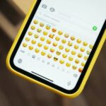 how to delete certain emojis on iPhone