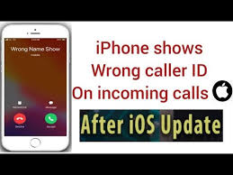 Wrong Caller Name On iPhone Incoming Calls