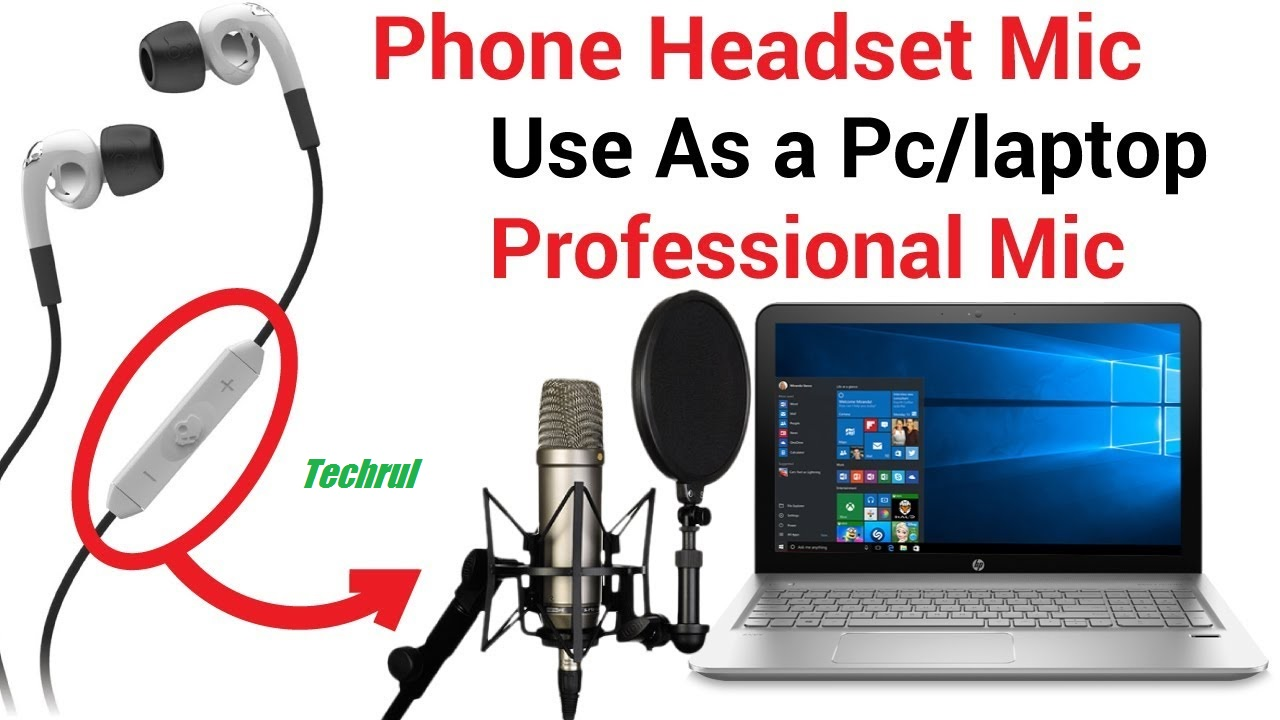 How To Use Phone Headphones As A Microphone On PC